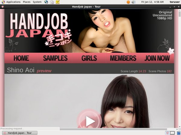 Handjob Japan Pay Using