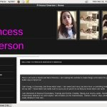 PrincessEmerson Free Account Password