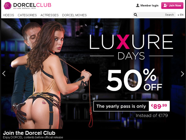 Dorcelclub Alternate Payment