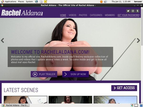 Rachelaldana.com With Maestro Card