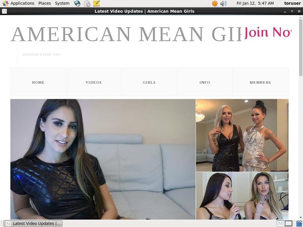 Americanmeangirls.com Members
